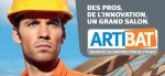 Publicit gonflable au Salon Artibat 2012
