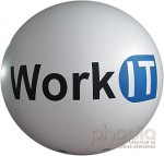 Ballon géant pour Work IT