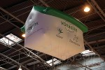 PLV gonflable sur salon Vorwerk
