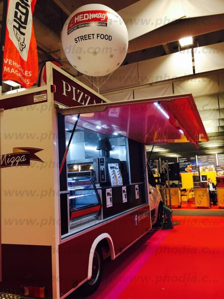 sphere gonflable helium 2m foodtruck