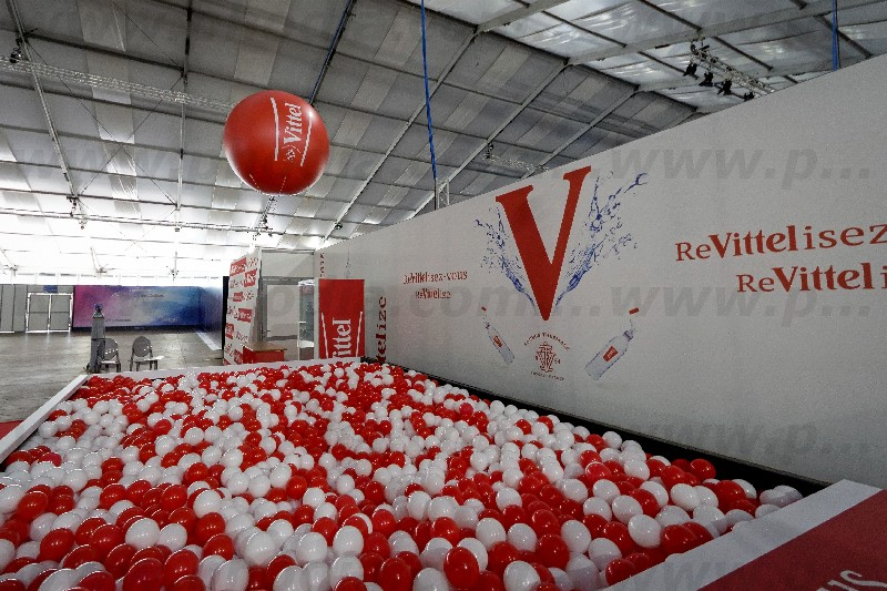 ballon vittel helium