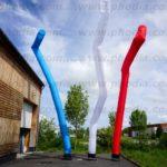 3 sky tubes tricolores pour soutenir les bleus | FIFA 2018