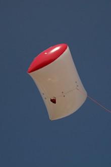 Ballon captif pour la photographie aérienne