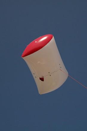 Ballon captif photo : Gélule Bicolor Ultimate 2