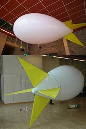 Ballon captif photo : Dirigeables GSQUAL