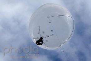 Ballon captif photo : la Sphère