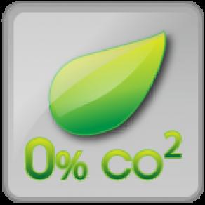 0% de rejet de Co²
