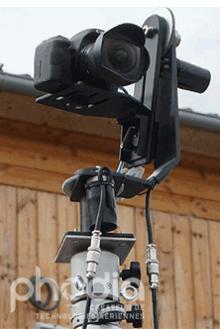 Tête motorisée et télécommandée pour la vidéo