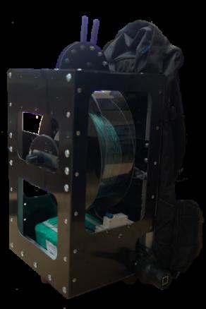 Treuil électrique dorsal pour ballon photo
